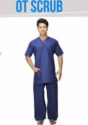 Uper And Lower Unisex Doctor Operation Theater Dress, Size: Large