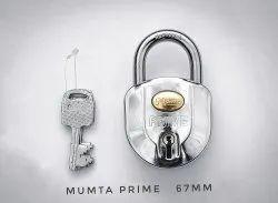 With Key Mumta Prime 67 mm Safety Padlocks, Chrome