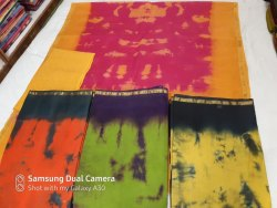 Gold Border Cotton Saree