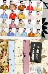 Cotton/Linen Party Shirt Bit/shirt piece, Handwash, 100