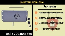 Shutter Alarm System