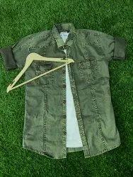 Cotton Full Casual Shirt, Size: M L Xl