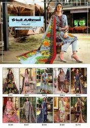 Cotton Pakistani Gul Ahmed VOL-7, Machine wash