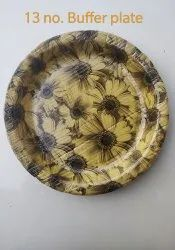 Multicolor Round 13 Inch Buffet Plate, Packaging Type: Packet