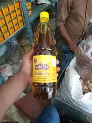 Nakoda Kachchi Ghani mastard oil, Packaging Type: Plastic Bottle, Packaging Size: 1 litre