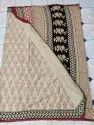 Chanderi Cotton Hand Block Printed Sarees