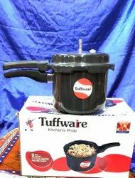 TUFFWARE Black Cooker, For Home, Size: 3 Liter