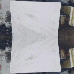 White Polished Finish Indian Statuario, Slab, Thickness: 18 mm