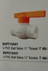 Premium White Pvc Tap, For Bathroom Fitting