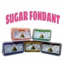 Vizyon Multicolor Sugar Paste Fondant, For Bakery, Packaging Size: 1 Kg