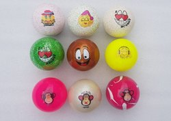 PVC Seamless Hockey Fun balls Hollow Match, 60-70 Gms,156-163 Gmd, Size: 72mm