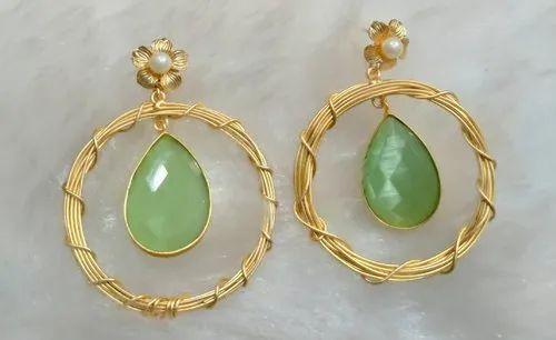Mate Bali Stone Earrings