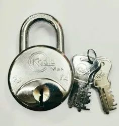 KODIA With Key 67 mm padlock, Packaging Size: > 100 Pieces, Chrome