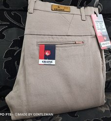 Narrow Grains Mens Daily Wear Cotton Pant