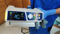 Syringe pump infusion pump