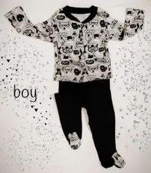 Mixed Girl & Boy Kids Branded Sleep Suit