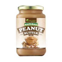 Ecobuddy Flavor: Unsalted Natural Crunchy Peanut Butter, Packaging Type: Glass bottles, Quantity Per Pack: 500 Gms