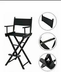 Black Iron Foldable Chair