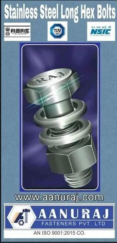 Stainless Steel Hex Head Bolt M12