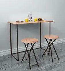 HV Brown 2 Seater Table For Cafe And Restaurant