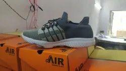 Men Black Eva Sole Sports Shoes, Size: 10