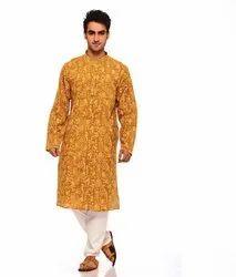 Mens Rajasthani Cotton Kurta