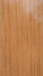 Casement Glossy Wooden colour pvc door, For Bathroom, Interior