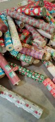 Imported Printed Catering Table Paper Rolls, GSM: 80 - 120 GSM