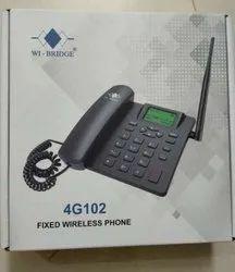 Wi bridge Black 4G phone, 1, Battery Capacity: 750mah
