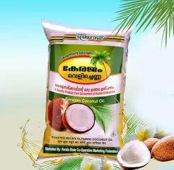 KERAJAM Roasted Coconut Oil, Packaging Type: Plastic Bottle