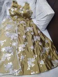 3 Piece Pattern Fancy Chaniya Choli, Dry clean