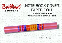 BRILLIANT SPECIAL PAPER ROLL(GSM-70)