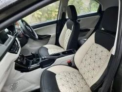 Leather Front & Back Car Seat Covers