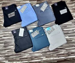 Imported 4 Way Lycra Cotton Mens Trousers