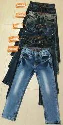 Denim Party Wear Kids Jean, Machine wash