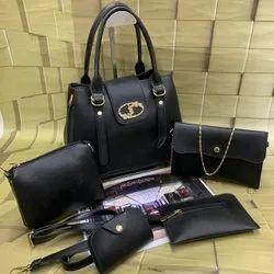 Polyurethane Plain Ysl Bags, Size: H-9inch W-9inch