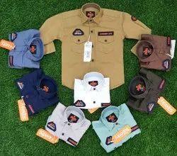 Boys Full Sleeves Kids Shirt