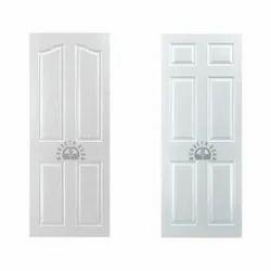 White Wood Skin Door, Matte