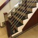 SSM64 Stainless Steel Wooden Stair Railing