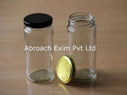 250ml Bamboo Glass Jar