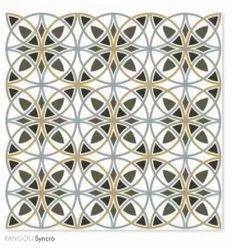 Matt 600x600 Moroccan Tiles, Bedroom