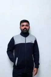 Gravit clothing Fleece Men Jogging Tracksuit, Size: Large