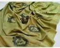 Jute Organza Embroidered Sarees