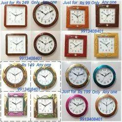 Quartz assorted Return Gift Wall Clock, For Home