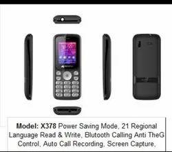 Mic Gsm Dual Sim Mobile Phone, Screen Size: 1.77