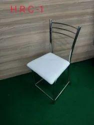 White Metal Restaurant Chair