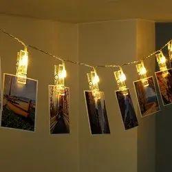 Warm White Photo clip LED light 16L