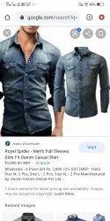Blue John Round Men Formal Shirts, Machine wash