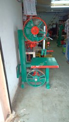 12inch WheelBand Saw, For Wood Cutting, Material Grade: Mild Steel