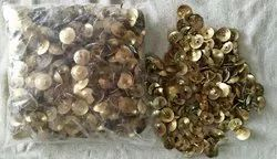 Golden Round Drawing Pins, Packet